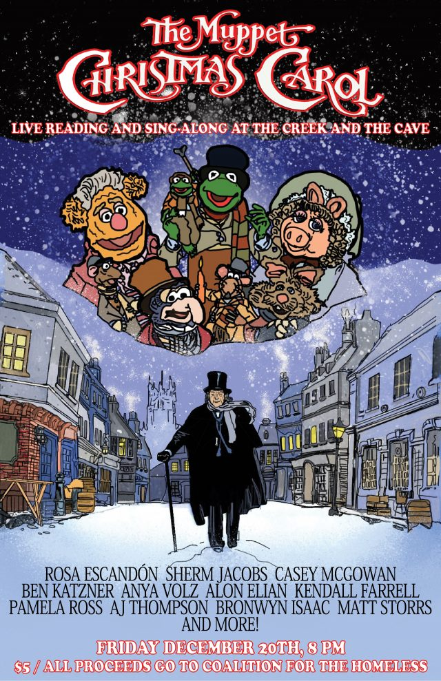 The Muppet Christmas Carol Live Reading and Sing-Along