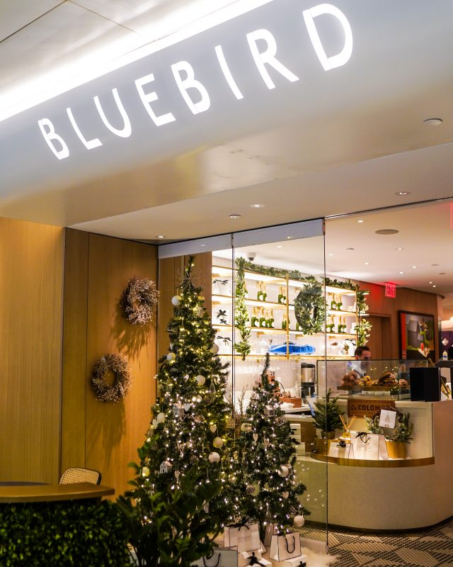 Christmas Dinner at Bluebird London NYC