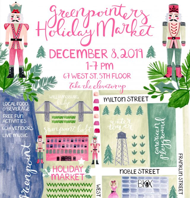 "Greenpointers ""The Nutcracker"" Holiday Market"