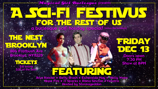 MGB Presents: A Sci-Fi Festivus For The Rest Of Us