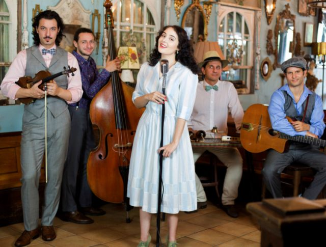 On Stage At Kingsborough Presents: Tatiana Eva-Marie & The Avalon Jazz Band