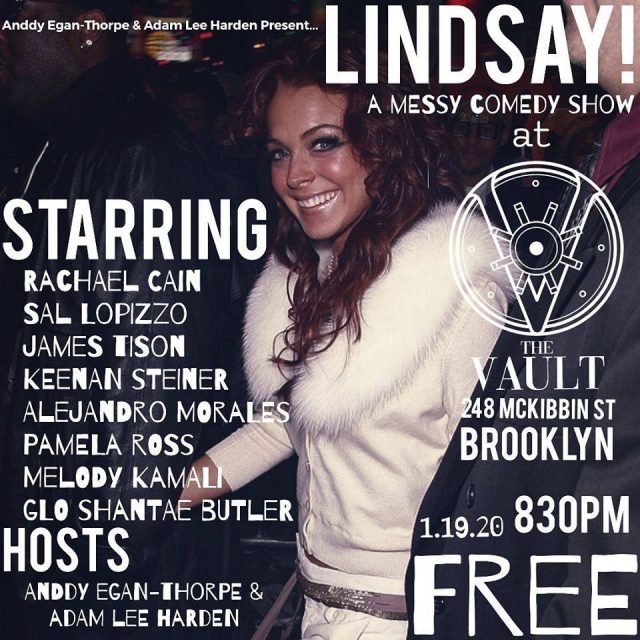 LINDSAY! A Messy Comedy Show