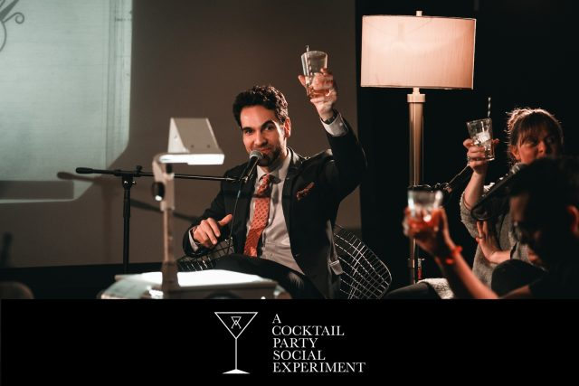 A COCKTAIL PARTY SOCIAL EXPERIMENT