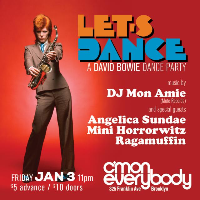 Let's Dance: A David Bowie Dance Party