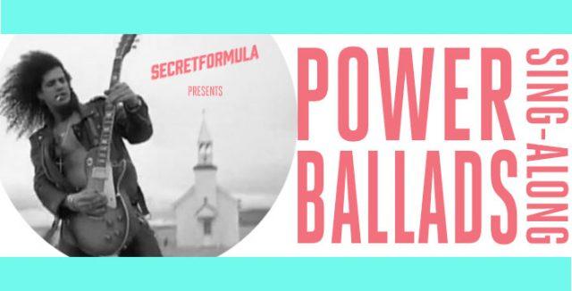 Power Ballads Sing-Along