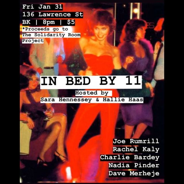 In Bed By 11- Stand Up Comedy Show