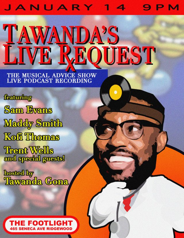 Tawanda's Live Request! Comedy Show & Podcast Recording