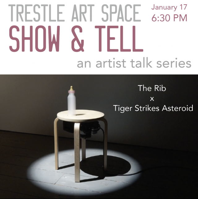Show & Tell Artist Talk Series: The Rib x Tiger Strikes Asteroid