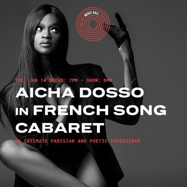 Aicha Dosso in FRENCH SONG CABARET