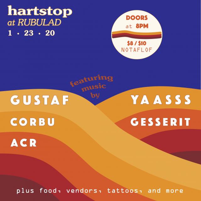 Hartstop at Rubulad feat. Gustaf, Yaasss, & more!
