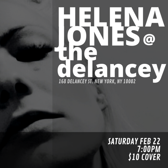 Helena Jones at The Delancey