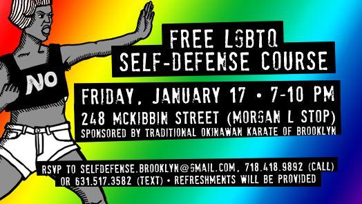 LGBTQ Self-Defense Class (free!)