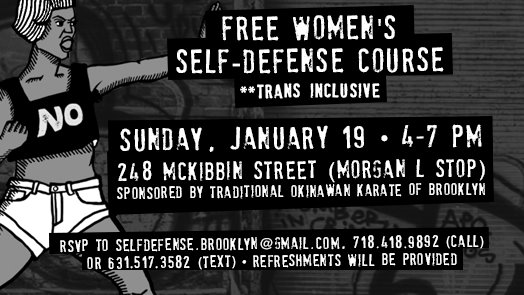 Women's Self-Defense Class (free!)