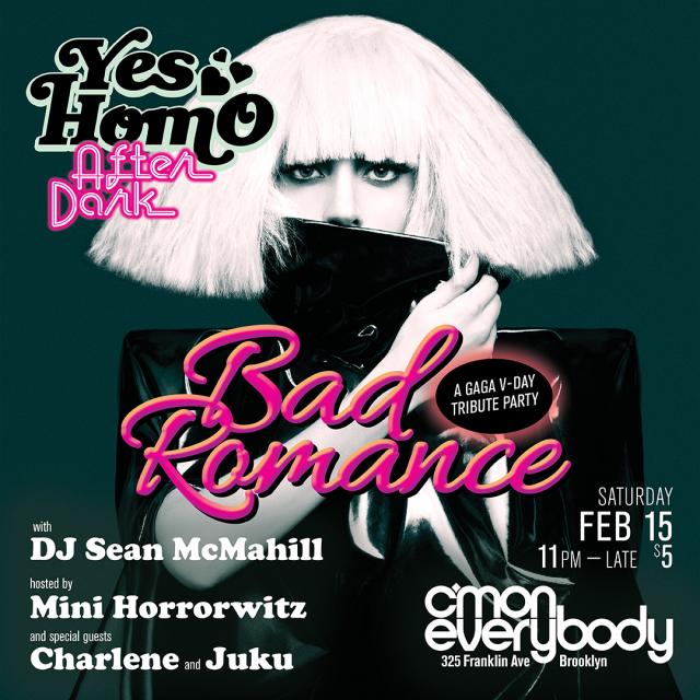 Bad Romance: A Gaga V-day Party!