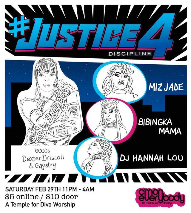 #Justice4Discipline *A Janet Jackson & friends party*