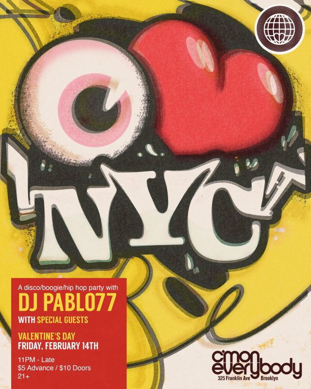 I LOVE NYC *A Valentine's Day Party*