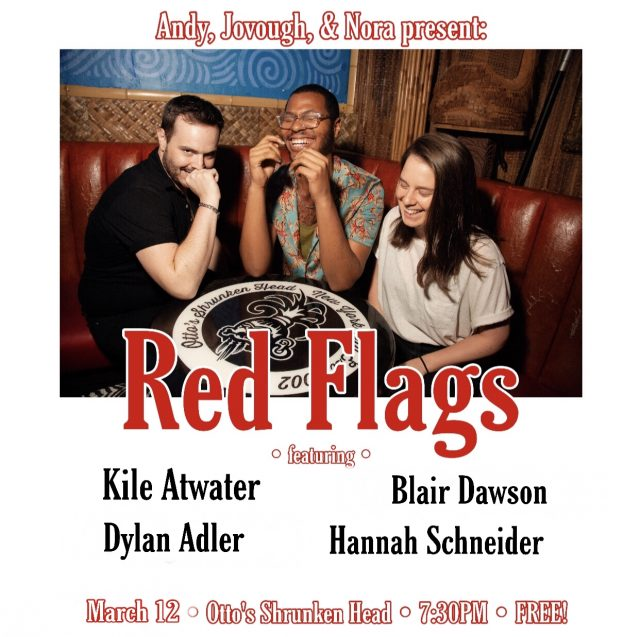 Red Flags: A Queer Comedy Showcase