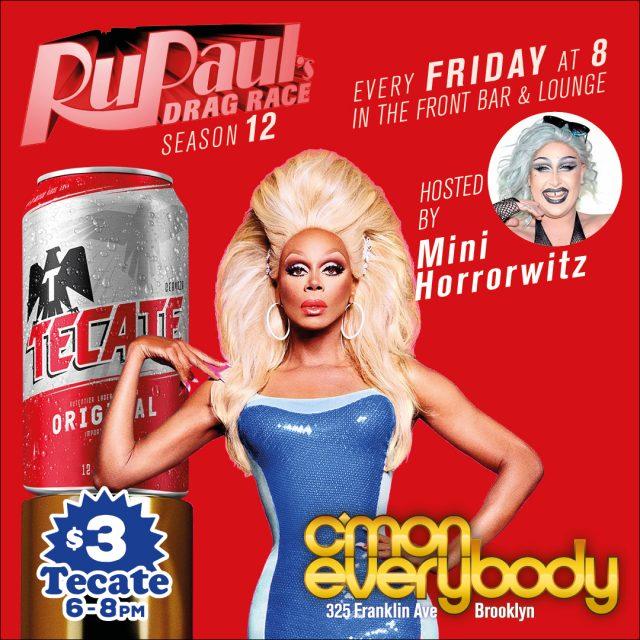 RuPaul's Drag Race Season 12 Viewing Party!