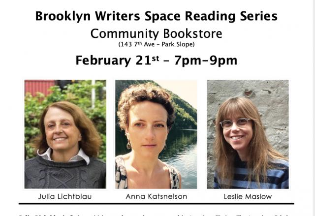 Brooklyn Writers Space Reading Series