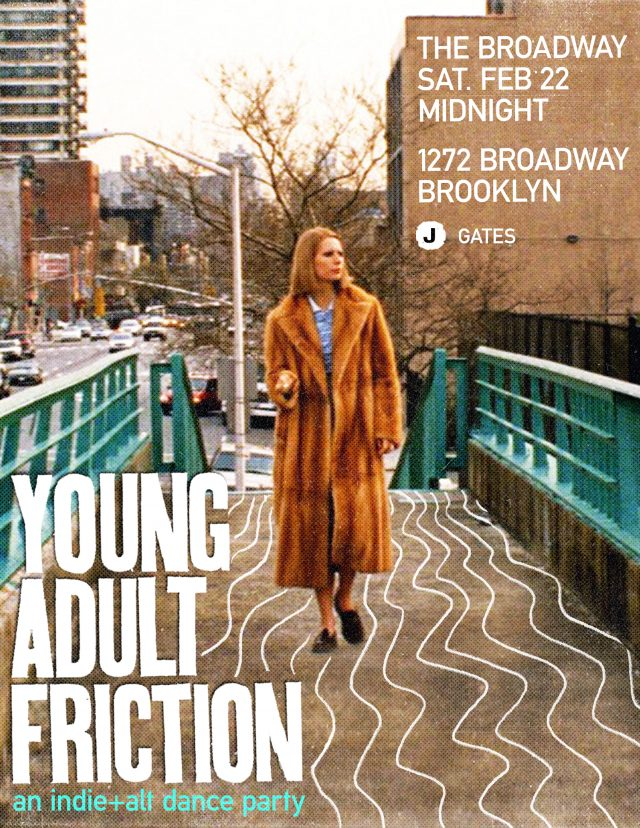 Young Adult Friction – an indie+alt dance party