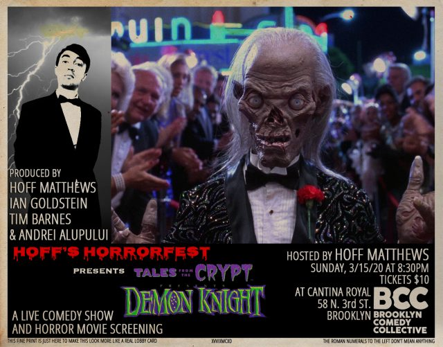 Hoff's Horrorfest : Tales From the Crypt Presents: Demon Knight