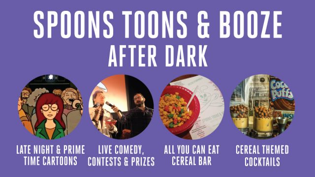 Spoons Toons & Booze After Dark